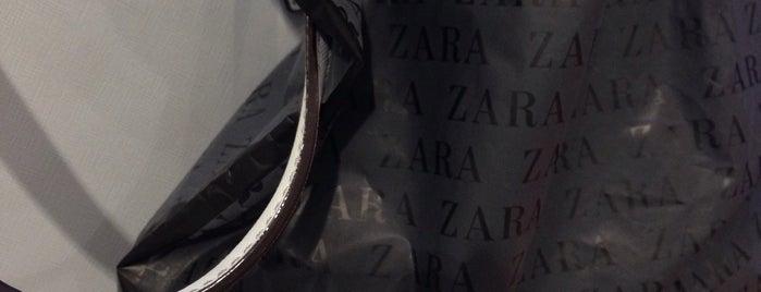 ZARA is one of Shopping!.