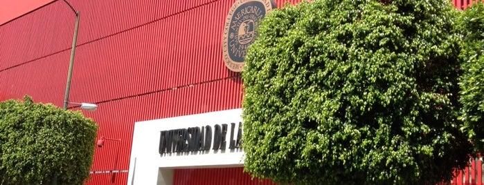 Universidad de las Américas is one of DF Todas.