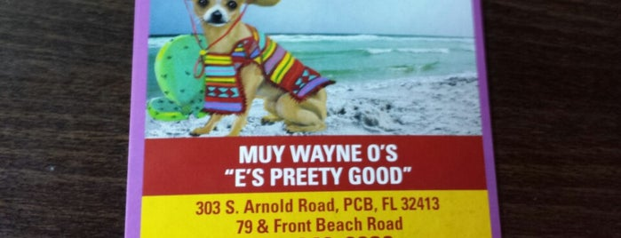 Muy Wayneo's is one of The 15 Best Places for Eggs in Panama City Beach.