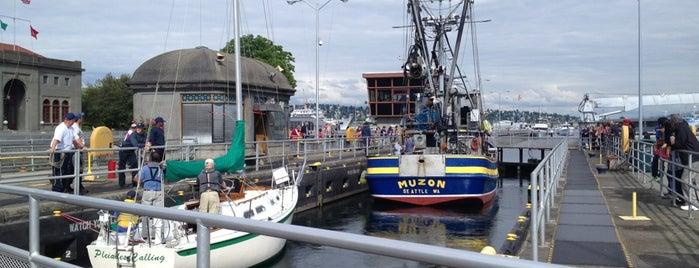 Hiram M. Chittenden Locks is one of Northwest Washington.