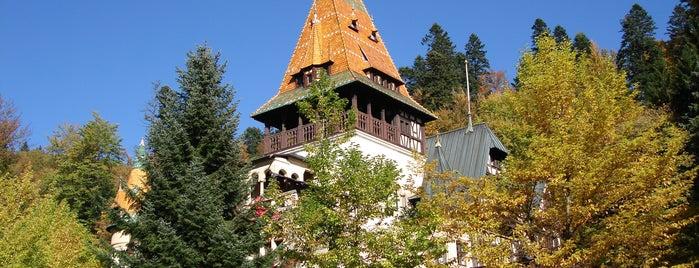 Castelul Pelișor is one of Romania.