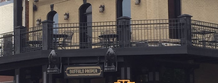Buffalo Proper is one of Buffalo Local Restaurant Week.