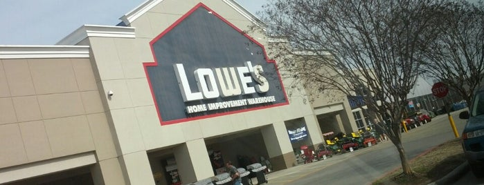 Lowe's Home Improvement is one of Some where in Tomball, Texas.