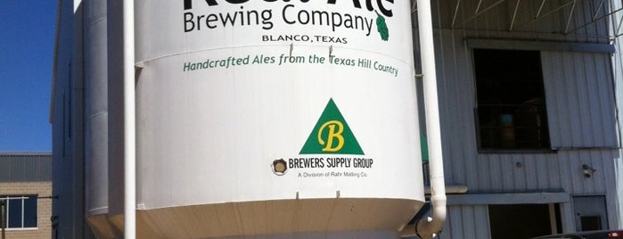 Real Ale Brewing Company is one of Texas breweries.