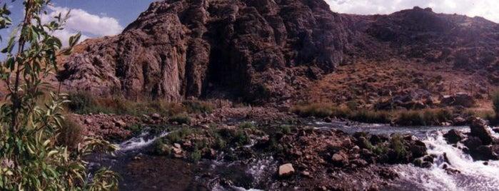 Gamasiyab Springhead | سراب گاماسیاب is one of Iran Natural Venues | جاذبههای طبیعی ایران.