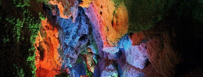 Chal Nakhjir Cave is one of Iran Natural Venues | جاذبههای طبیعی ایران.