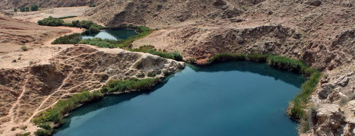 Abdanan Twin Lakes | دریاچه دوقلوی آبدانان is one of Iran Natural Venues | جاذبههای طبیعی ایران.