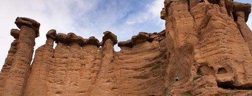 Doodkesh Jen | دودکش جن is one of Iran Natural Venues | جاذبههای طبیعی ایران.