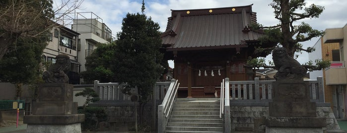 鹿島田大神社 is one of Temples & Shrines Near Shin-Kawasaki.