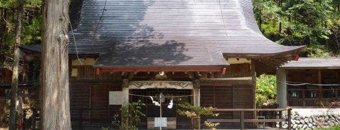 松尾神社 is one of 201405_中山道.