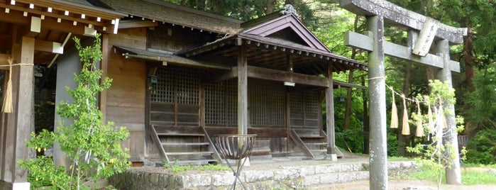 本山神社 is one of 201405_中山道.