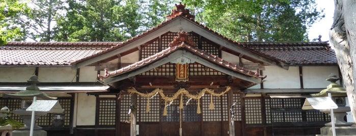 大門神社 is one of 201405_中山道.