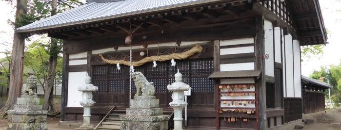 大伴神社 is one of 201405_中山道.