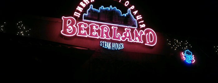Beerland is one of Top 10 restaurants when money is no object.