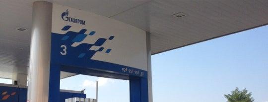 Газпром is one of АЗС Газпром (Ростов и окрестности).