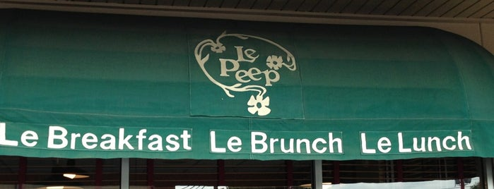 Le Peep is one of houston nothing.