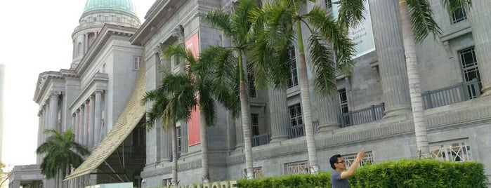 National Gallery Singapore is one of Warhol Badge.