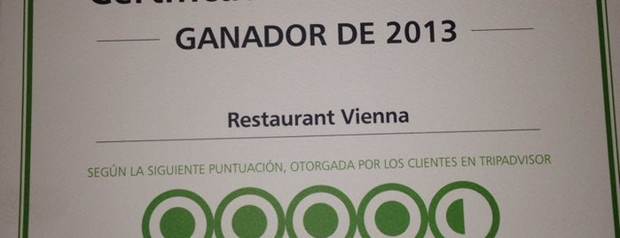 Vienna Restaurant is one of Comidas.
