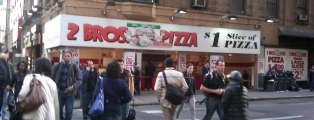 2 Bros. Pizza is one of Laturr / Dolla Slice.