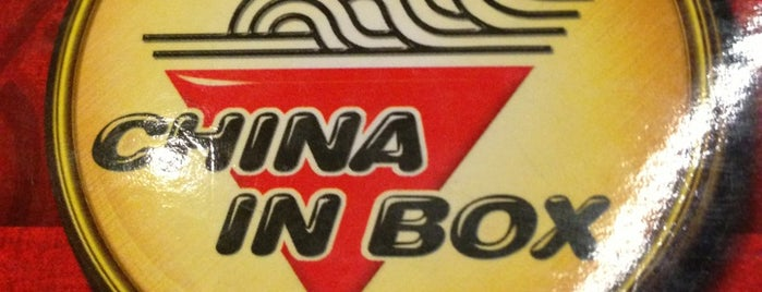 China in Box is one of Comida & Diversão RJ.