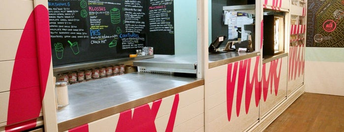 Momofuku Milk Bar is one of 50 Awesome Late Night Restaurants In NYC.