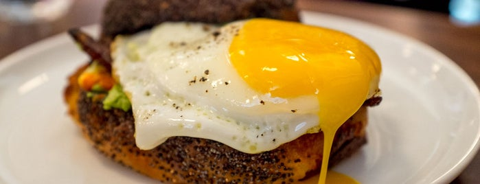 Estela is one of 12 Awesome Breakfast Sandwiches in NYC.