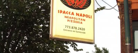 Spacca Napoli Pizzeria is one of The 38 Essential Chicago Restaurants, Winter 2017.
