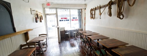Littleneck is one of Eater 38 - Essential NYC Restaurants.