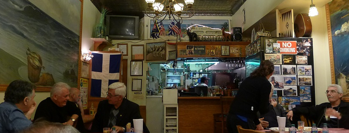 Gregory's 26 Corner Taverna is one of Eater 38 - Essential NYC Restaurants.