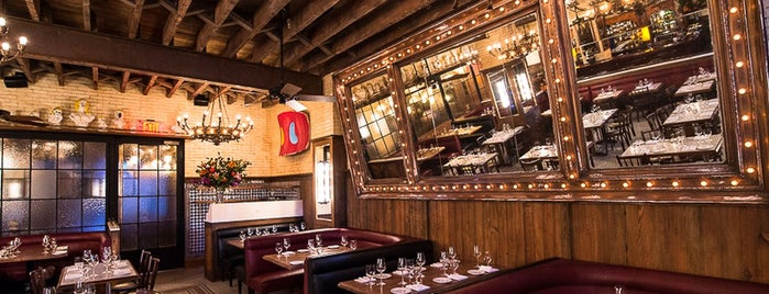 Dirty French is one of 50 Awesome Late Night Restaurants In NYC.