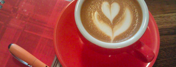 Cafe Grumpy is one of The 38 Essential Coffee Shops Across America.