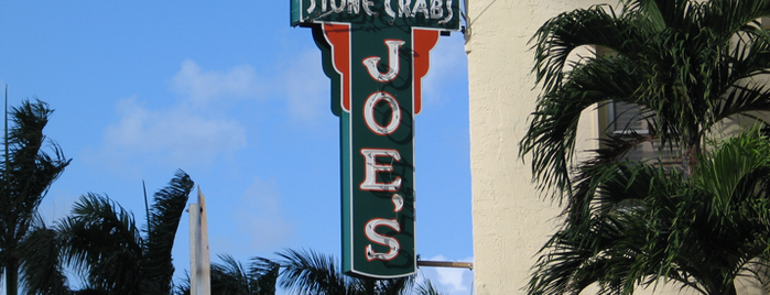 Joe's Stone Crab is one of Miami Eater 38.