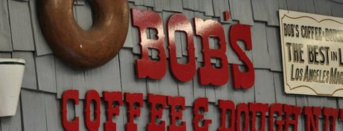 Bob's Coffee & Doughnuts is one of LA's Most Delectable Doughnut Shops.