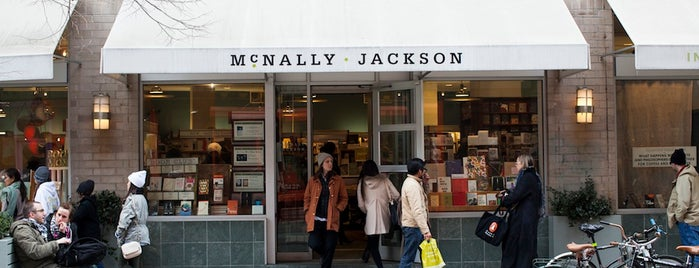 McNally Jackson Books is one of Best Indie Bookstores NYC.