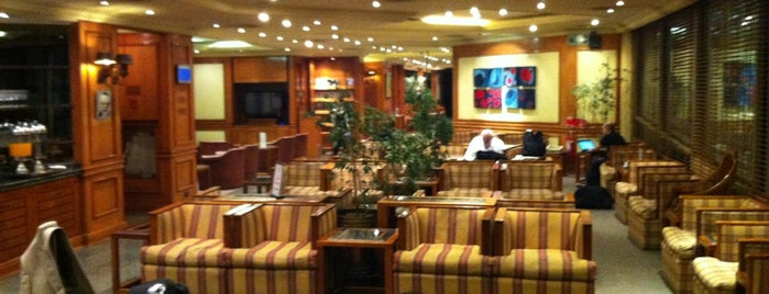 American Airlines Admirals Club is one of Salas VIP-Lounges.