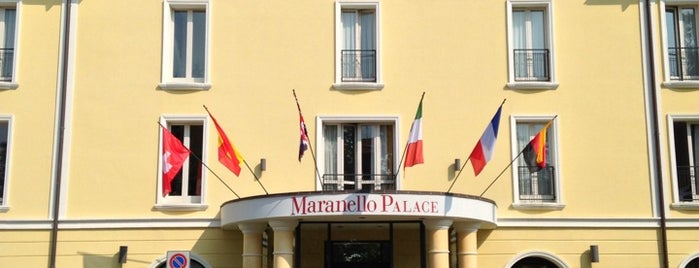 Maranello Palace is one of Mis hoteles favoritos.