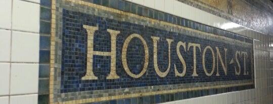 MTA Subway - Houston St (1) is one of Subway Stations.