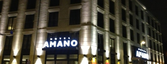 Hotel Amano is one of Berlin.
