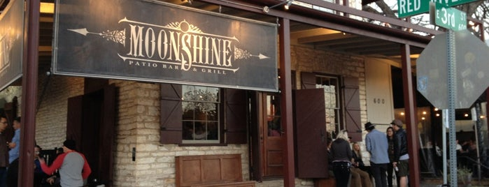 Moonshine Patio Bar & Grill is one of Favorite places to eat.