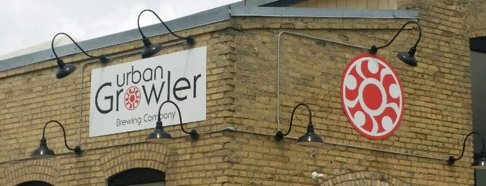Urban Growler Brewing Company is one of Minneapolis-St. Paul Tap Room Directory.