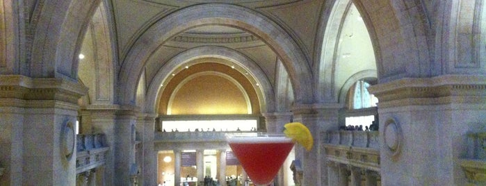 The Great Hall Balcony Bar is one of NYC Manhattan East 65th St+.