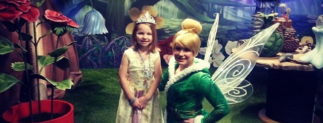Tinkerbell's Treehouse is one of FUN.