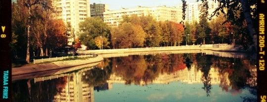 Лианозовский ПКиО is one of Сады и парки Москвы.