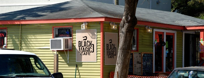 Black Magic Cafe is one of Food Worth Stopping For.