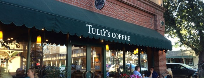 Tully's Coffee is one of Best coffee shops for meetings and laptop work.