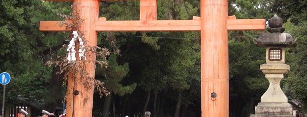 春日大社一の鳥居 is one of Great outdoor in NARA.
