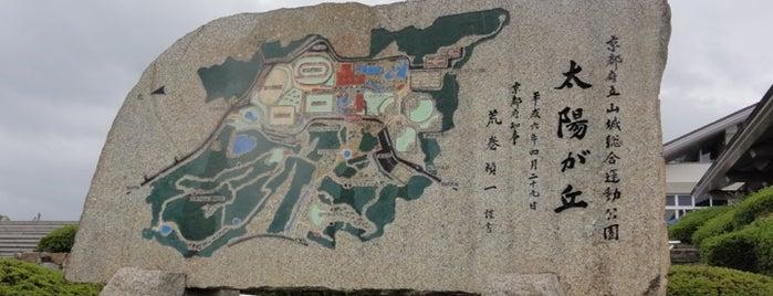 Yamashiro Sports Park (Taiyogaoka) is one of 日本の都市公園100選.