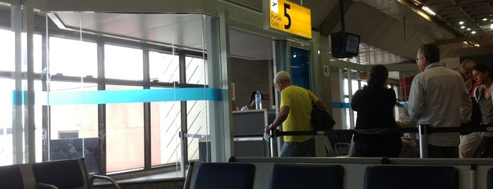 Portão 5 is one of Aeroporto de Guarulhos (GRU Airport).