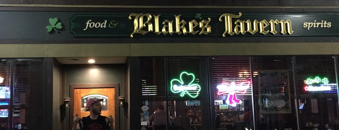 Blake's Tavern is one of Providence, RI.