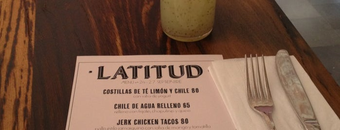 Latitud is one of Restaurantes.